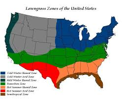Us Zones For Gardening - lawns in the united states wikipedia