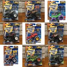 wheels monster jam trucks wheels monster jam 2018 3 truck pack babies kids toys