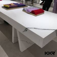 Corian Stone China Promotion Veining Colour Artificial Stone Acrylic Solid