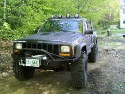 light green jeep cherokee roof mounted light bar jeep cherokee forum