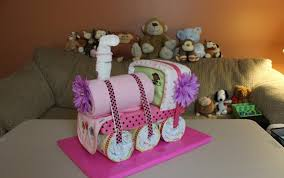 choo choo train diaper cake how to make youtube