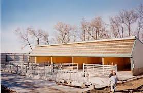 Livestock Barns Small Scale Dairy Calf And Cattle Housing Center For Agriculture