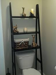 Bathroom Toilet Storage Black Ladder The Toilet Storage For Small Bathroom Ideas With