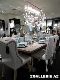 z gallerie dining table focal point styling z gallerie scottsdale reopening store tour