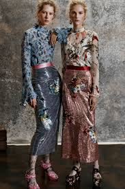 erdem collection exclusive runway fashion