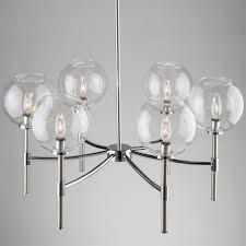 Globes For Chandelier Vertical Globes Chandelier Shades Of Light