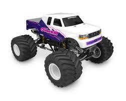 monster jam toy trucks jconcepts 1993 ford f 250 super cab monster truck body w racerback