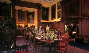 Glamis Castle Castles Scotland Vacation And Hospitality - Castle dining room