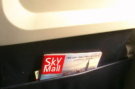 skymall files for bankruptcy wsj