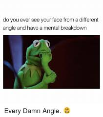 Every Meme Face - do you ever see your face from a different angle and have a mental