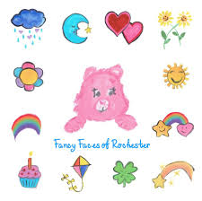 fancy faces rochester care bears theme