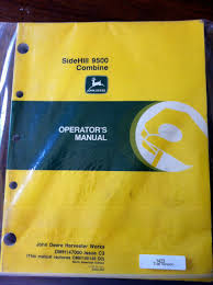 john deere 9400 9500 u0026 9600 combines oem operators manual john