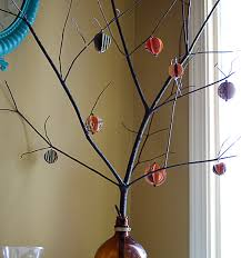 paper ornament tree