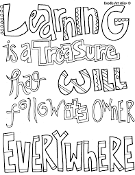 learning is a treasure coloring pages for older kids pinterest