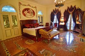 living room in mansion inside miami u0027s famous versace mansion which just sold for a