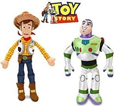 amazon disney toy story woody buzz lightyear plush doll
