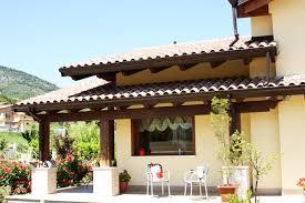 tettoie per terrazze legno per esterni balconi portici tettoie verande garage