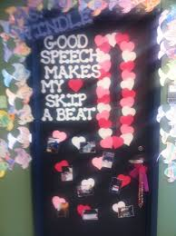 Valentine Decorations For Classroom Doors by 59 Best Speech Room Style Door Decor Images On Pinterest Speech