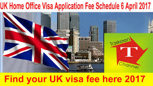 Uk Home Office by Uk Visa Fee Home Office Visa Application Fee Schedule 6 April