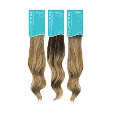 design lengths hair extensions halocouture