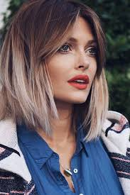 short hairstyles with center part and bangs the best short hair of 2018 so far southern living