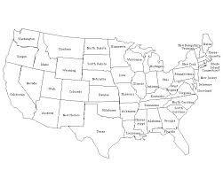 us map states not labeled united states maps masters blank colored labeled maps