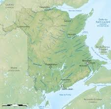 What Is A Topographic Map File Rivers Of New Brunswick Topographic Map Fr Svg Wikimedia