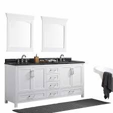 Essex 60 Vanity Cypress Hills 72 In Pure White Astaire Bathroom Vanity Bathroom