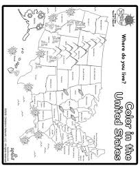 the stylish as well as gorgeous us map coloring page pertaining to