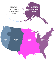 United States Map With Alaska by Indianas Time Zones And Daylight Saving Time Dst Current Local