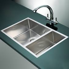 Kitchen Sinks Drop In Double Bowl by Stainless Steel Drop In Kitchen Sinks U2014 The Homy Design
