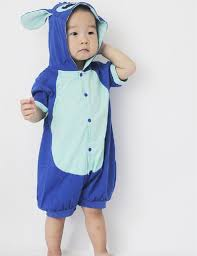 stitch costume infant baby romper costume for baby boys