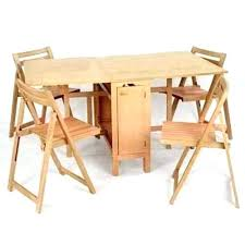 folding table with storage table with chair storage wood folding table and chairs full size of
