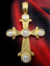 byzantine crosses byzantine engraved chi rho cross sterling silver 925 gold plated