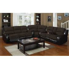 Contemporary Reclining Sofa With Topstitch by Reclining Loveseats U0026 Sofas You U0027ll Love Wayfair