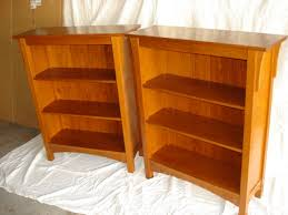 Mission Bookcase Plans Red Oak Arts And Crafts Style Bookcase By Stickleystyle