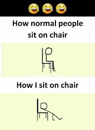 Meme Chair - i sit on a chair funny meme