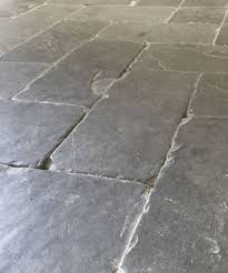 slate herringbone floor tiles grey pavers cabin