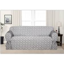 T Cushion Sofa Slip Cover T Cushion Sofa Slipcovers You U0027ll Love Wayfair
