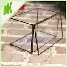 hanging geometric glass terrarium wholesale clear glass vase