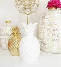 white pineapple lamp new arrivals house stuff pinterest
