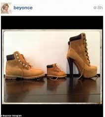 Timberland Boot Embraced By Rihanna Beyonce Jay Z Blue Ivy