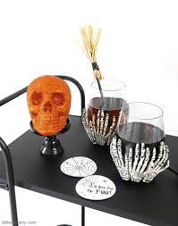 Halloween Decor Printables by Quick U0026 Easy Halloween Party Crafts With Free Printables Party