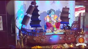 Home Ganpati Decoration Tanvi Hande Home Ganpati Decoration Video U0026 Ideas Www Ganpati Tv