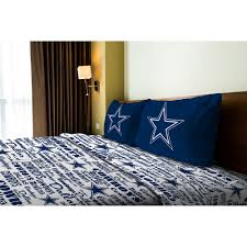 Dallas Cowboys Drapes by Nfl Bedding In A Bag Bedroom Sets Dallas Cowboys Window Treatments
