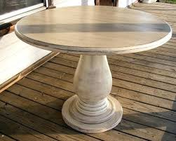 Kitchen Table Pedestals Great Dining Table Pedestal Wood Oval Double With Leaves