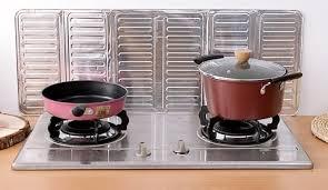 stove splash guard kitchen oil splash guard cooking cover anti splatter shield 352