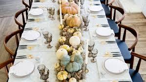 setting a thanksgiving table martha stewart