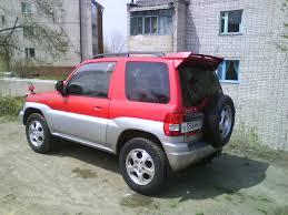 mitsubishi pajero io 2000 1999 mitsubishi pajero io pictures 1800cc gasoline automatic