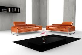 calia italia canapé en cuir canapé contemporain en acier 3 places marron romeo
